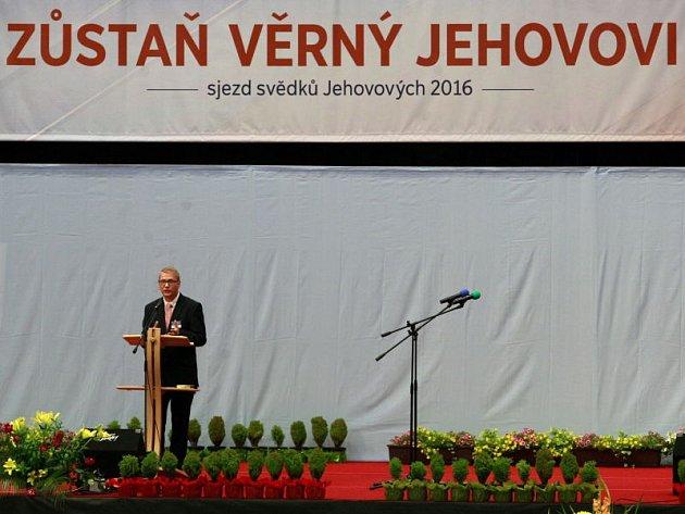 Sjezd svědků Jehovových 2016 v Ostravar aréně.