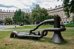 Sochařský festival - Sculpture line v Porubě.