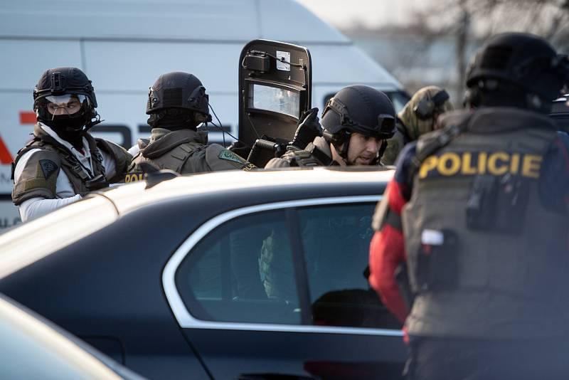 Situace po střelbě 10. prosince 2019 ve fakultní nemocnici v Ostravě-Porubě.