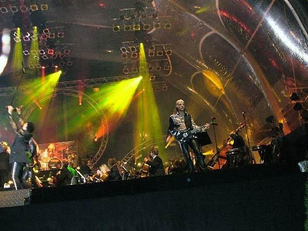 Berlínský koncert kapely Scorpions