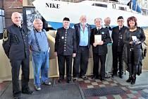 Setkání v Dolních Vítkovicích u jachty Niké