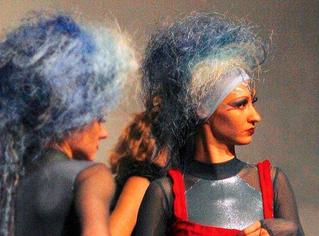 Výřez jedné z fotografií Tamary Černé na její současné ostravské výstavě