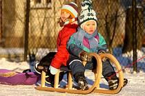 Ze zimy se těší hlavně děti