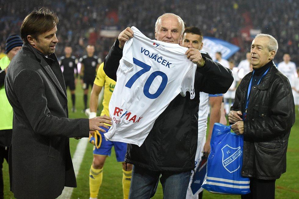 Utkání 23. kola první fotbalové ligy: Baník Ostrava - Fastav Zlín, 1. března 2019 v Ostravě. Na snímku Rostislav Vojáček.