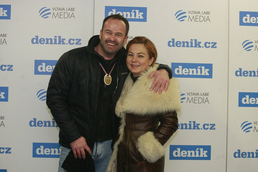 Snímek z fotokoutku u stánku Deníku na Olympijském festivalu v Ostravě.