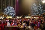 Akce Deníku Česko zpívá koledy v Ostravě-Porubě, středa 12. prosince 2018