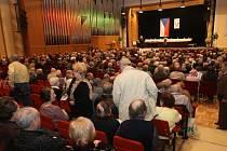 Příznivci KSČM se v pondělí 9. února sešli v Domě kultury města Ostravy.