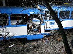 Srážka tramvají ve Vřesině, při níž zahynuli tři lidé