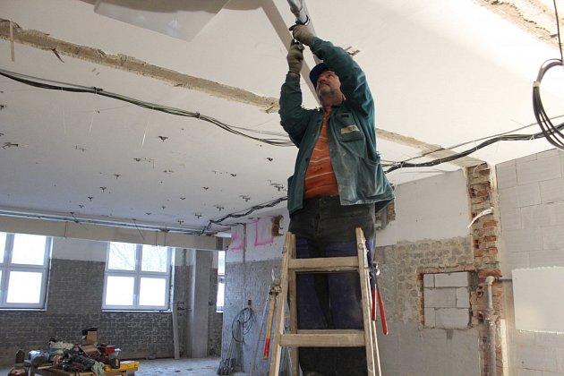Oprava vanového oddělení vSanatoriu Klimkovice.
