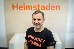 Generální ředitel společnosti Heimstaden Jan Rafaj. Ilustrační foto