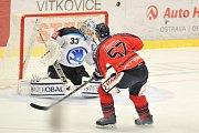 Utkání 10. kola hokejové extraligy: HC Vítkovice Ridera vs. HC Plzeň.