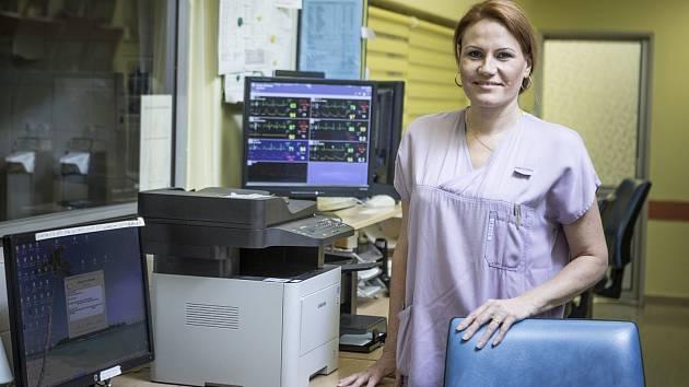 Šéfka odborů FNO Zuzana Sargová.
