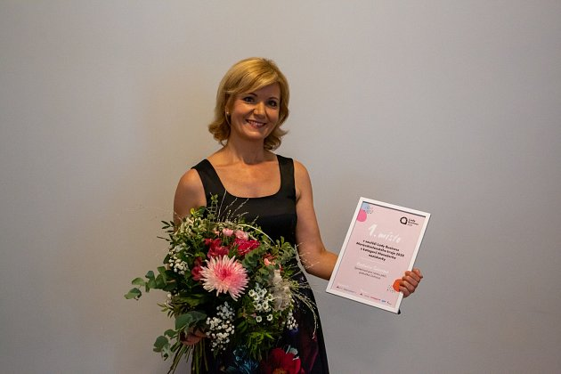 Vítězka vkategorii Manažerka neziskovky Vladimíra Salvetová