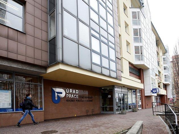 Úřad práce v Ostravě. Ilustrační foto.
