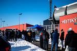 19. kolo utkání Fortuna ligy mezi FC Baník Ostrava a FK Jablonec. 14. února 2021 v Ostravě - Vítkovicích.