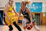 Utkání 6. kola Ženské basketbalové ligy: SBŠ Ostrava - Slovanka MB, 21. listopadu 2020 v Ostravě.