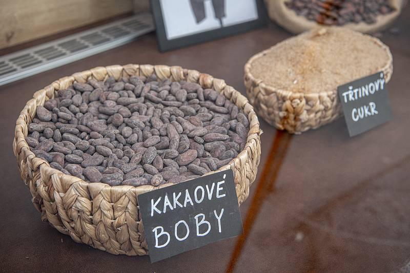 Čokoládovna Aztec man v Ostravě.