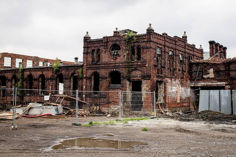 Rekonstrukce bývalých ostravských jatek, 12. června 2020 v Ostravě.