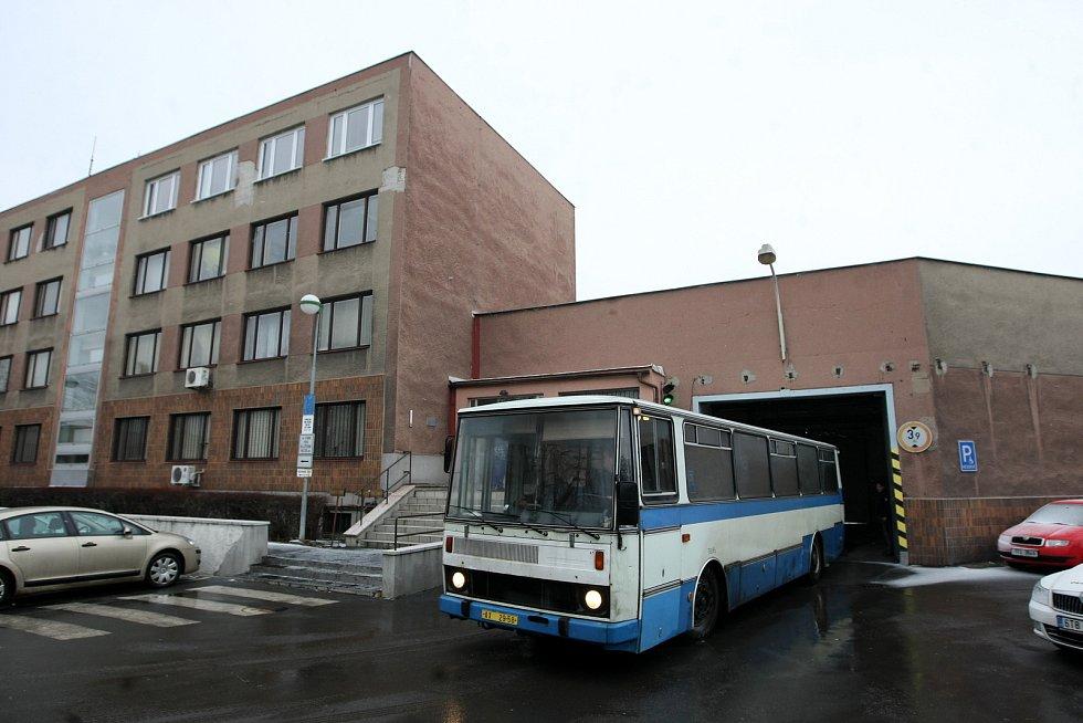 Věznice Heřmanice, únor 2013. Ilustrační foto.