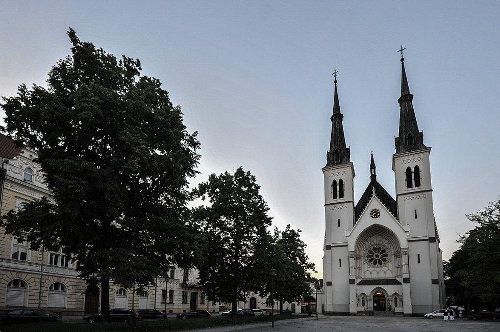 Noc kostelů v kostele Neposkvrněného početí Panny Marie v Ostravě-Přívoze.