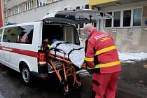 Řidiči Nemocnice AGEL Ostrava-Vítkovice převezli v loňském roce 25 tisíc pacientů.