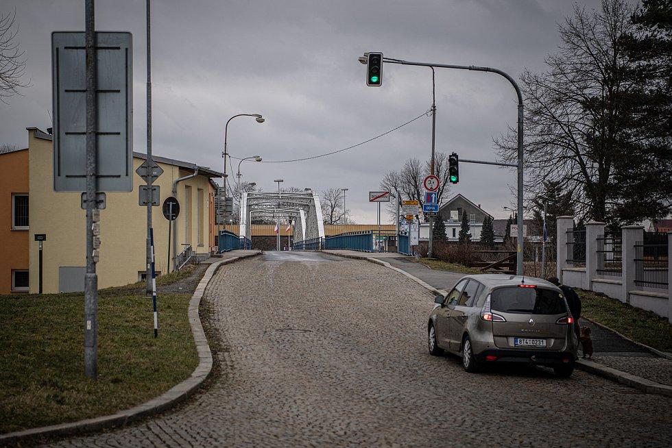 Hraniční přechod s Polskem ve Starém Bohumíně. Ilustrační foto.