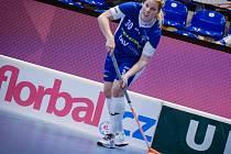TRUMF. Jak si povede švédská posila v barvách florbalových Vítkovic Madeleine Ellilä ve svém prvním českém play-off?