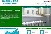 Snímek internetové stránky