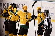 Hokejisté Poruby prohráli druhé finále se Vsetínem 2:4.