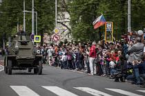 Poslední velký průvod zažilo centrum Ostravy před třemi lety při oslavách 70 let od konce druhé světové války.