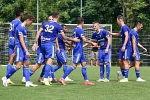 Přípravné fotbalové utkání: Baník Ostrava - FK Fotbal Třinec, 5. srpna 2020 v Ostravě. Ilustrační foto