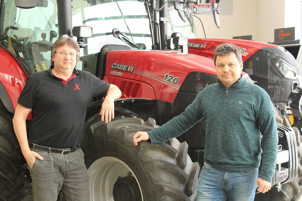 Jednatelé firmy BV Technika Jiří (vpravo) a Vlastimil (vlevo) Vozníkové