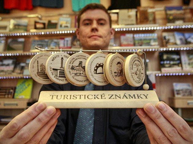 Turistické známky, které můžete získat v Ostravě.