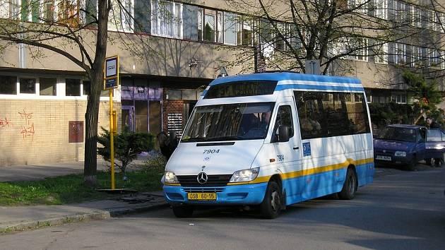 Minibusy Dopravní podnik Ostrava provozuje již od roku 1999. Ilustrační foto.