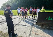 Mezinárodní policejní klání prověřilo schopnosti i znalosti účastníků z několika zemí. V Landek Parku například tahali důlní vozíky. Kromě fyzičky prokázali také znalosti z topografie nebo zdravovědy.