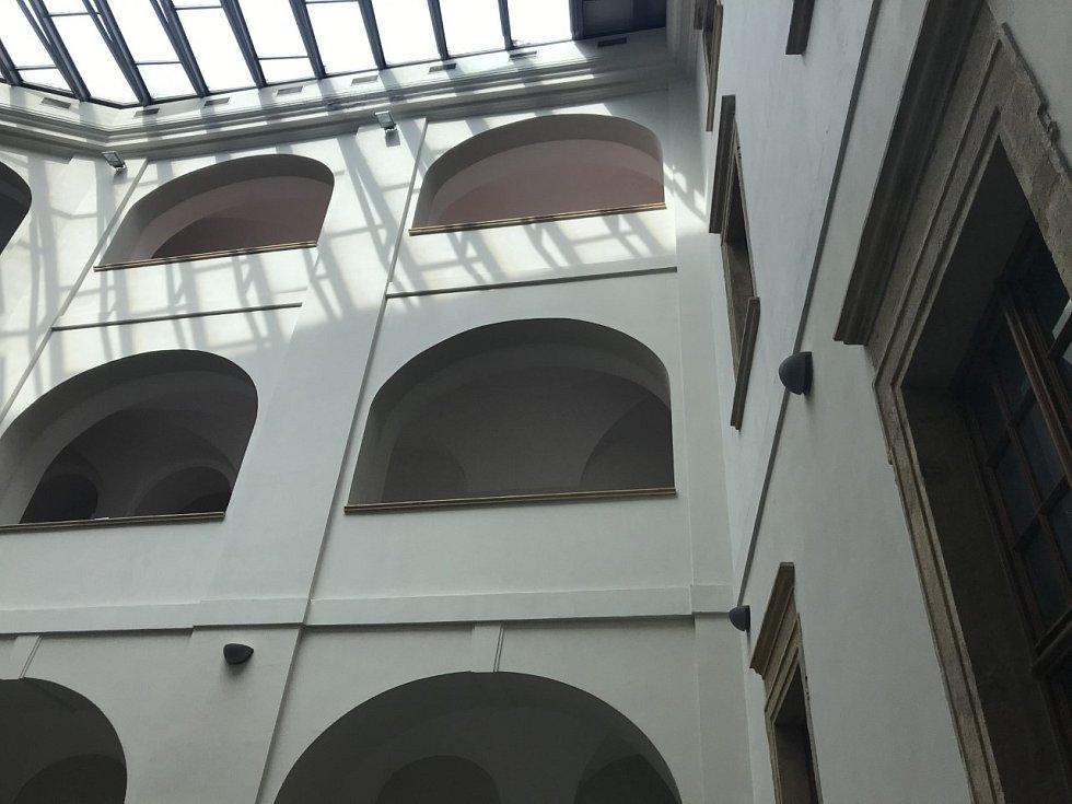 Interiéry bývalého jezuitského konviktu.