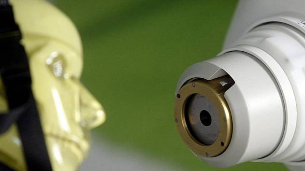 CyberKnife – špičkový robotický ozařovač ostravské fakultní nemocnice.