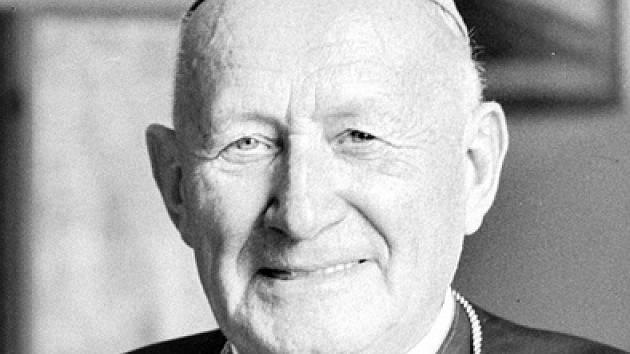 Katolický duchovní, kardinál, arcibiskup pražský a primas český František Tomášek.