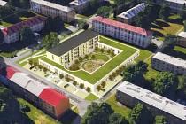 Komunitní dům pro seniory na Dělnické v Ostravě-Porubě.