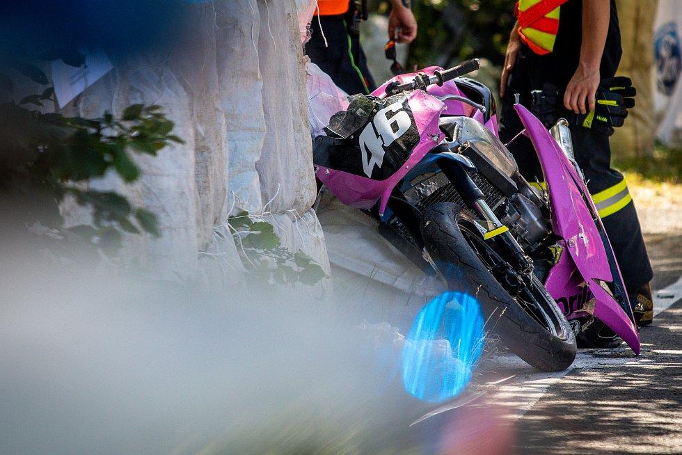 Smrtelná nehoda v závodu Okruh Františka Bartoše, 30. června 2019 v Ostravě.
