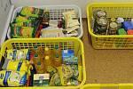 Sbírka potravin. Ilustrační foto.
