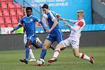 MOL cup, čtvrtfináleSlavia Praha - Slovan Libereczleva: Murphy Dorley (L), Taras Kacharaba (asi, L), Michal Frydrych (S)