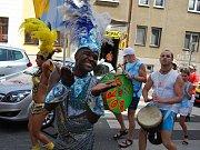 ZlatoCOOP karneval v ulicích v Havířově.
