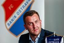 Výkonný ředitel Baníku Ostrava Michal Bělák.