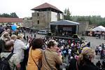 Dřevařský festival na Slezskoostravském hradě.