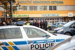 Zásah policie ve Fakultní nemocnice Ostrava - střelba, 10. prosince 2019 v Ostravě.