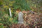 Neznáme hroby poblíž silnice Těšínská x Hradní nám., 30. října 2019 v Ostravě.