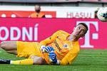 Brankář Sparty Milan Heča - FORTUNA:LIGA - Skupina o titul - 2. kolo, AC Sparta Praha - FC Baník Ostrava, 23. června 2020 v Praze.