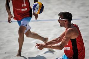 Turnaj Světové série Ostrava Beach Open, 21. června 2018, na snímku Filip Habr.