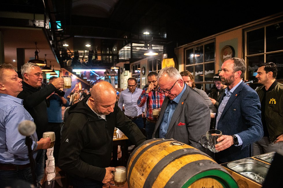 Pilsner Urquell slaví 177. výročí - Putovní oslava. P.U.O.R Slezska. 2.listopadu 2019 v Ostravě.